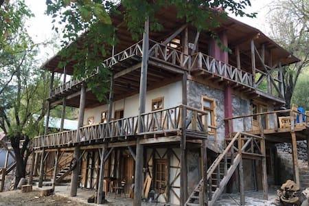Taş ev - Çukurbağ Köyü - Casa
