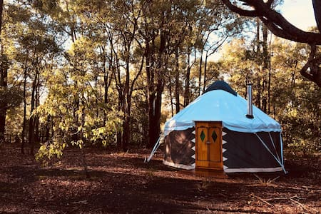 Middle Earth Yurt ~ Bush Glamping Jarrahdale
