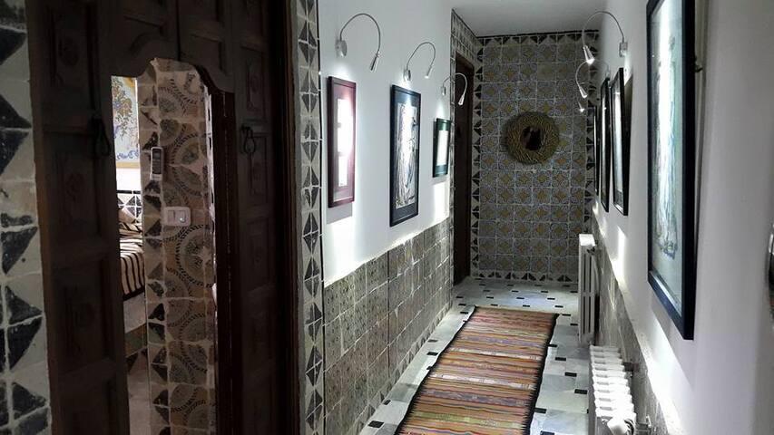 Galerie desservant Chambre 1 et 2 -RDC