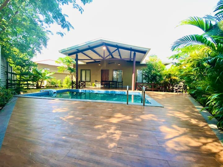 Premium 2BHK Private Pool Turtle Villa- EKOSTAY
