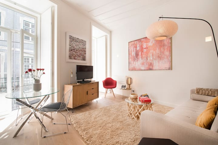 NEW Lisbon Rouge appartment in the downtown (A/C)