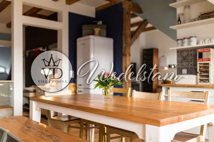 """""""Villa Dohna"""" Apartment Wedelstam"""