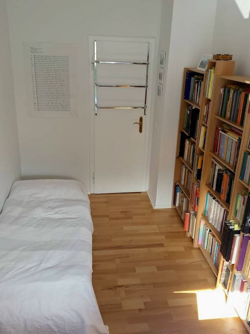 Your room with guestbed (190x80cm)