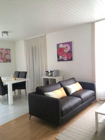 Appartement 2,5p au Centre Ville, proximité du Lac