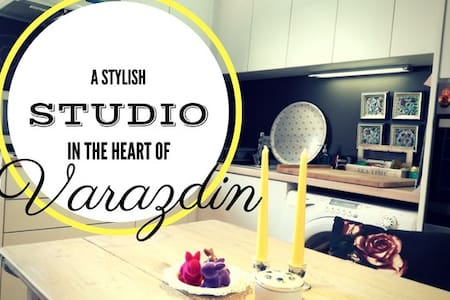 A Stylish Studio in the Center of Varaždin - Varaždin - อพาร์ทเมนท์