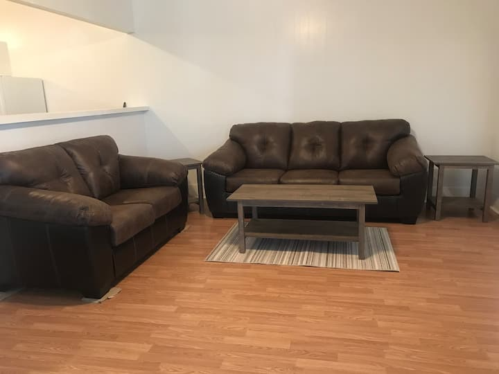 Newly remodeled, fully furnished duplex