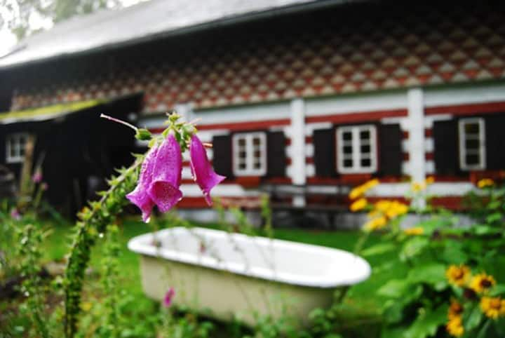 Cabin in Bell Flower Valley