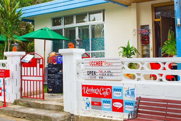 ucchee's cafe at Okinawa MOON - 中頭郡 - บ้าน