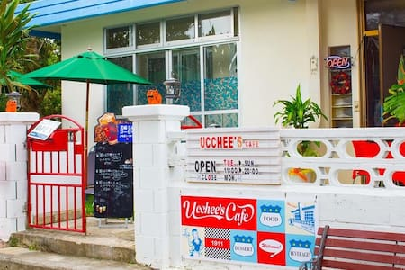 ucchee's cafe at Okinawa MOON