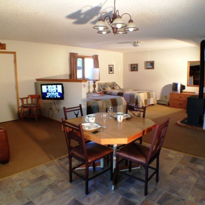 Unit #5 Dining area