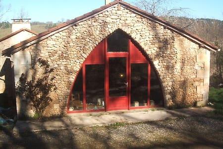 La maison avec l'arche en ogive - Manzac-sur-Vern