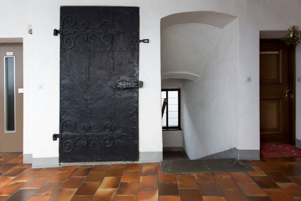 Elevator and Entrance