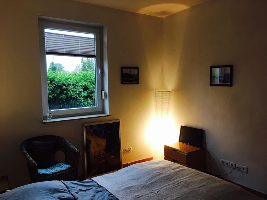Das Zimmer aus einer anderen Perspektive