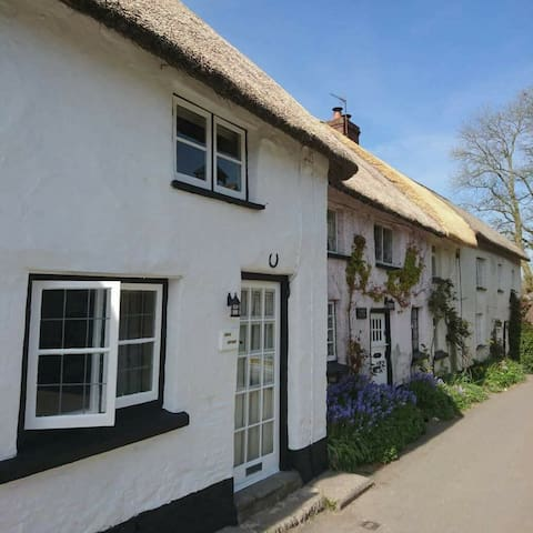 April cottage and the other chocolate box cottages.
