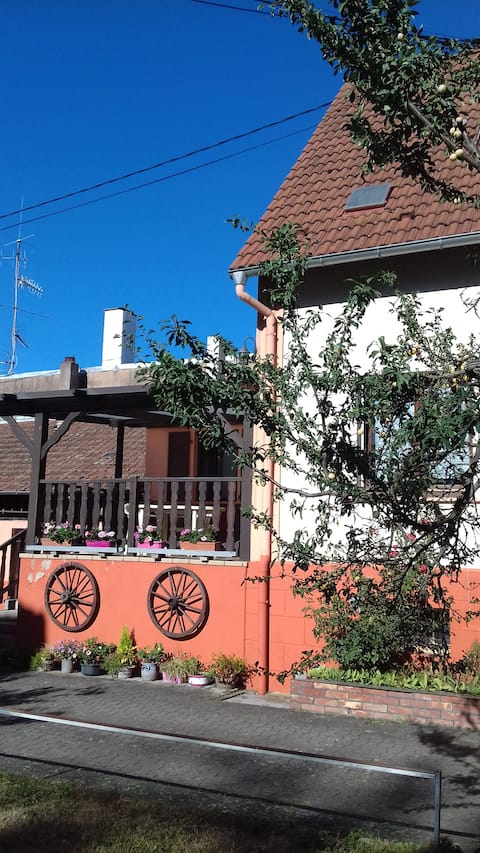 Maison proche du Tram à 15 minutes de Strasbourg