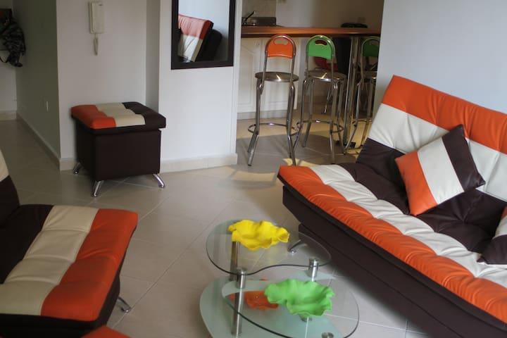 Medellín - Apartamento privado en Envigado (4pers) - Envigado - Apartemen