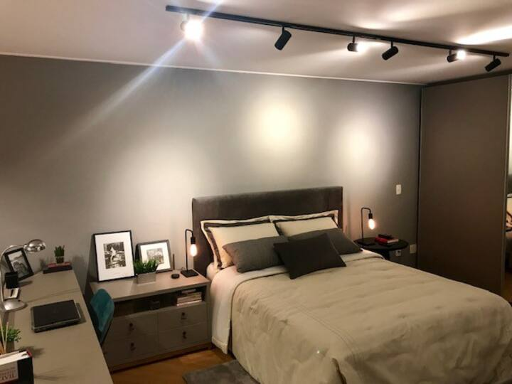 Apartamento Loft Residence - Gonzaga, Santos - SP