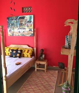 Studio 62- Live in an Ugandan style Art Gallery