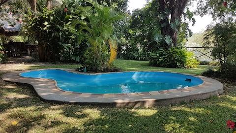 a  garden of Eden on the Zambezi River,