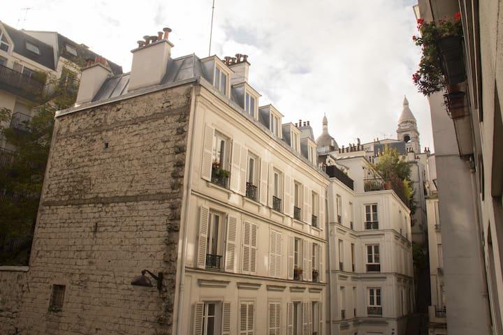 Studio cozy dans le quartier Montmartre
