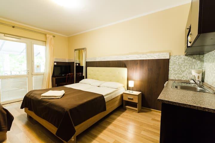 Bella Villa, Siófok - Studio apartment for 3 pax