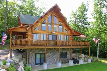 Luxury Log Cabin in Conway With Mountain Views - Конуэй - Отпускное жилье
