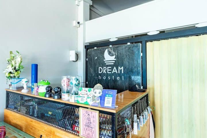Budget Single Room at Dream Hostel Hatyai