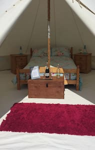 Gwendoline our beautiful bell tent