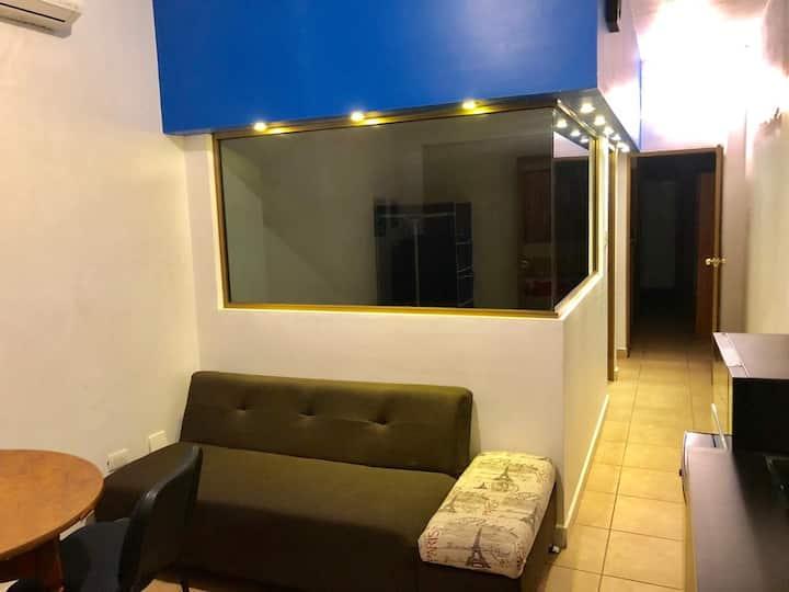 Departamento con alberca Colonia Centro
