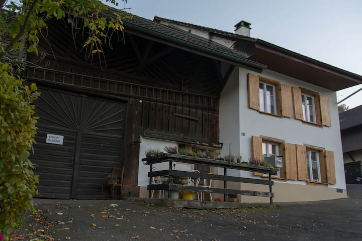 Pension Chesselberg. Zimmer VIOLA - Buckten - Bed & Breakfast