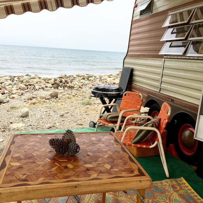 Camped at Emma Wood State Beach. Make a campsite reservation at Reserve America