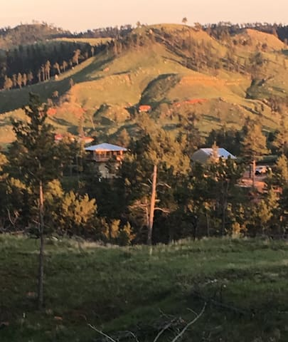 Gold Rush Cabin, Black Hills