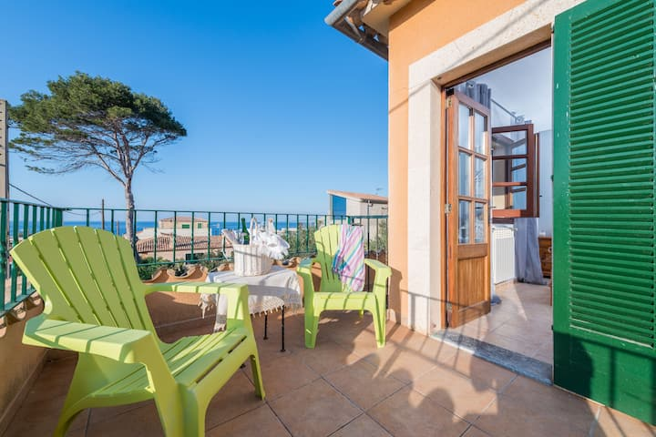 HOME IN TRAMUNTANA - Xalet only 300 metres from the beach Free WiFi