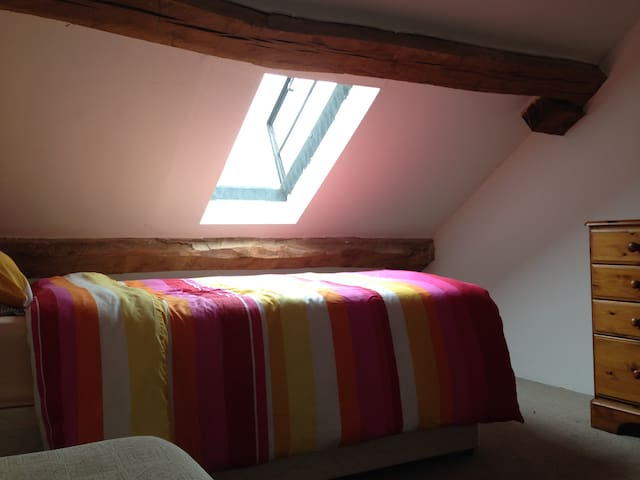 Attic room in The Stable House