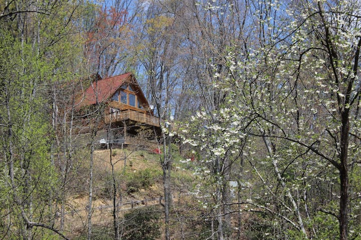 Waterfalls Rd Cabin-Close to Downtown Blowing Rock - Lenoir - Stuga