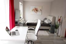 Modernes helle 28 qm Apartment UNI-Nähe