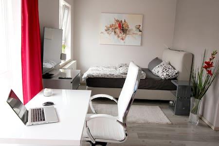Modernes helle 28 qm Apartment UNI-Nähe - Saarbrücken - 公寓