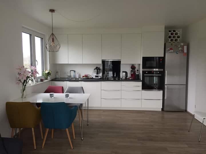 Helle,moderne 2Zi Wohnung m BLK in Stadt&Park nähe