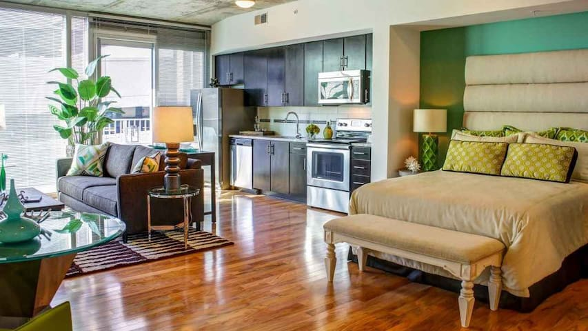 Downtown Apartment - 5 Miles from Championship - Tampa - Appartement