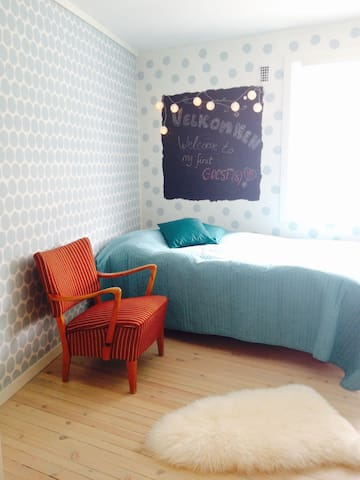 Eli`s guestroom Odda city center - Odda - Apartamento