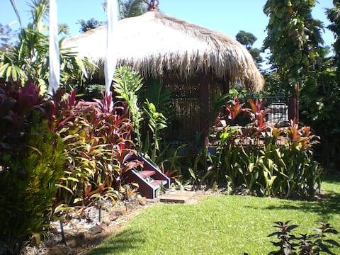 Balinese style studio.