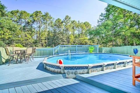 Family Pool House 8 Mi to Johnson Beach! AMAZING!