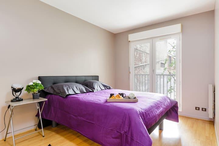 Paris CENTRE apartment WITH PRIVATE PARKING