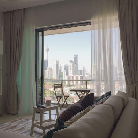 Cosy 1-bedroom apartment near KLCC - Kuala Lumpur - Byt