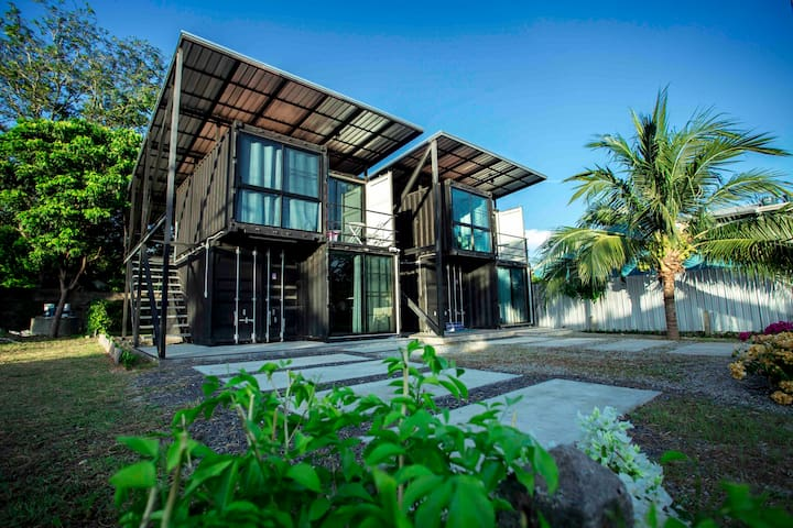 Container one-bedroom private villa Rawai beach