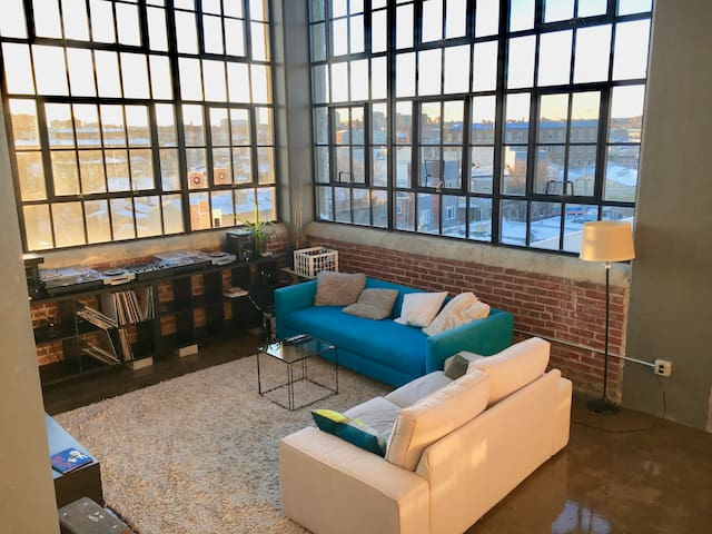 Hip Fishtown loft apartment - Philadelphia - Apartment