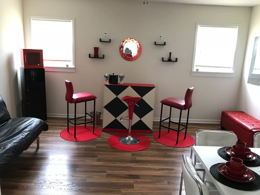 Dining room,bar,extra sleeping room
