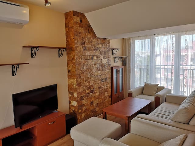 A two bedroom maisonette in central Plovdiv