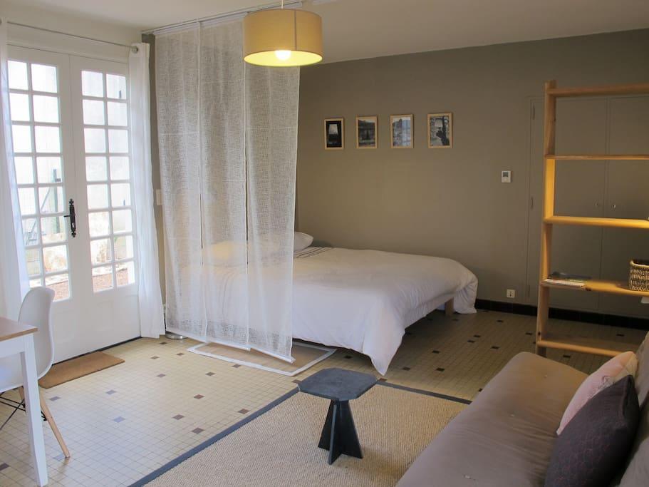 studio nature au calme dans un crin de verdure appartements louer poitiers nouvelle. Black Bedroom Furniture Sets. Home Design Ideas