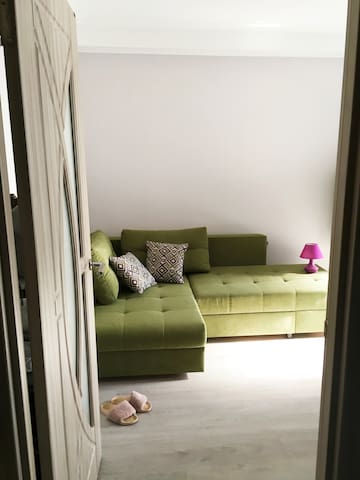 Flat near the Dnipro river